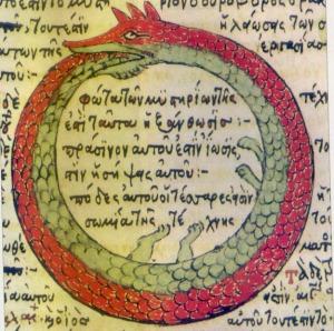 Schlange der Alchemisten